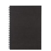 再生纸双环笔记本 A5 80页 / 深灰色