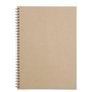 再生纸双环笔记本 B5 80页 / 米色