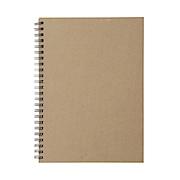 再生纸双环笔记本 A5 80页 / 米色