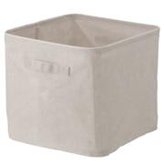 棉麻涤沦软盒 L 约宽35×深35×高32cm / 生成