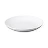 白瓷盘 中 约直径19×高3cm / 白色