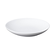 白瓷盘 小 约直径14.5×高3cm / 白色