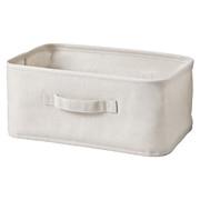 聚酯纤维棉麻混纺软盒 小 37×26×16cm