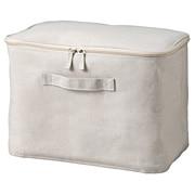聚酯纤维棉麻混纺软盒 中 附盖子 37×26×25cm