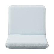 日式座椅 平铺时:宽57×深102×高10cm / 白色