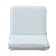 日式座椅 平铺时:宽46×深86×高10cm / 白色