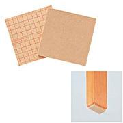 防划伤垫 自由裁剪式 100×100mm / 黄土颜色