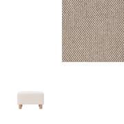 沙发凳本体用套/棉平织套/米色 搁脚凳用