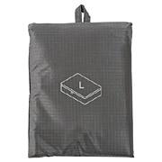 滑翔伞梭织布可折叠旅行用收纳包 大 约40×53×10cm / 灰色