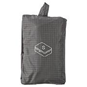 滑翔伞梭织布可折叠旅行用收纳包 小 约20×26×10cm / 灰色