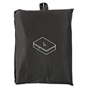 滑翔伞梭织布可折叠旅行用收纳包 大 约40×53×10cm / 黑色