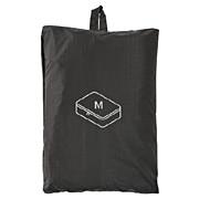 滑翔伞梭织布可折叠旅行用收纳包 中 约26×40×10cm / 黑色