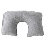 棉天竺颈枕 约27.5cm×50cm / 麻灰色