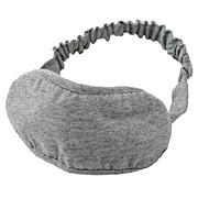 棉天竺眼罩 约16×31×8cm / 麻灰色