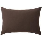 棉天竺枕套 50×70cm用 / 混棕色