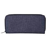 聚酯纤维护照盒 薄型 约23.5×11.5cm / 混藏青色