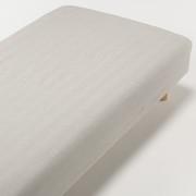 水洗棉床罩 Q 160×200×18-28cm用 / 米色