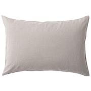 水洗棉枕套 50×70cm用 / 米色