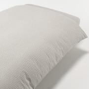 水洗棉被套 K 230×210cm用 / 米色格纹