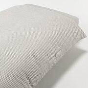 水洗棉被套 L 200×230cm用 / 米色格纹