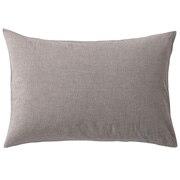 水洗棉枕套 50×70cm用 / 棕色