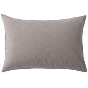 水洗棉枕套 43×100cm用 / 棕色