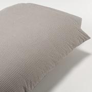 水洗棉被套 Q 210×210cm用 / 棕色格纹
