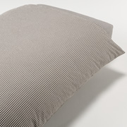 水洗棉被套 L 200×230cm用 / 棕色格纹