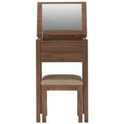 胡桃木梳妆柜 / 凳子 / 宽46×深36.5×高72cm