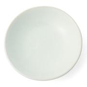 益子焼香皿 白灰釉 85mm