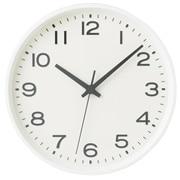指针式时钟 大 挂钟 白色