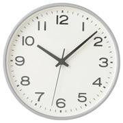 指针式时钟 大 挂钟 银色