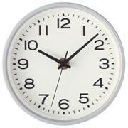 指针式时钟 小挂 座钟 银色