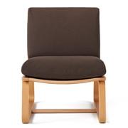 棉平织客厅餐厅两用沙发椅套/深棕色