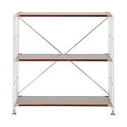 不锈钢组合架 / 胡桃木搁板套装 / 宽型 / 小 / 宽86×深41×高83cm