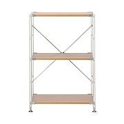 不锈钢组合架 / 橡木搁板套装 / 小 / 宽58×深41×高83cm