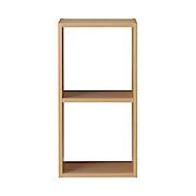 组合式木架 / 2层 / 白橡木 / 宽42×深28.5×高81.5cm