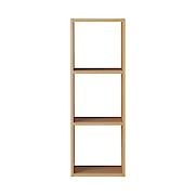 组合式木架 / 3层 / 白橡木 / 宽42×深28.5×高121cm