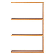 组合式木架/宽型/追加3层/白橡木  宽79.5*深28.5*高121cm