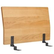 床框用床头板 / 单人 / 橡木 / 长103×宽8×高53cm