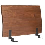 床框用床头板 / 单人 / 胡桃木 / 长103×宽8×高53cm