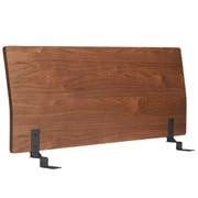 床框用床头板 / 双人 / 胡桃木 / 长147×宽8×高53cm