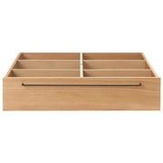 床框下收纳 / 大 / 橡木 / 长80×宽90.5×高19cm