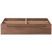 床框下收纳/小/胡桃木 宽80*长60.5*高19cm