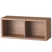 壁挂式家具 箱子 / 胡桃木 / 长44×宽15.5×高19cm