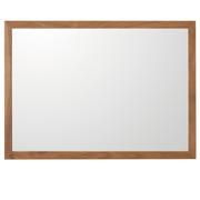 壁挂式家具/镜子/小/胡桃木 长44×宽2×高32.5cm