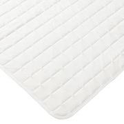 抗菌聚酯纤维床褥 D 160×200cm / 白色