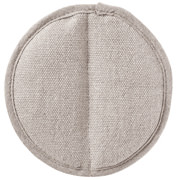 厚麻布 隔热护手夹 约直径13cm