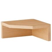壁挂式家具 角落架・橡木 长22×宽22×高10cm