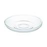 耐热玻璃 茶盘 约直径14cm